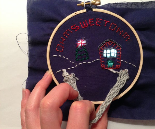 Embroidered Circuits: Ohm Sweet Ohm