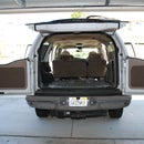 Auto sound deadening  - part I - remove trim, install some matting.