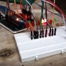 Light Sensitive Worm Using Arduino Uno