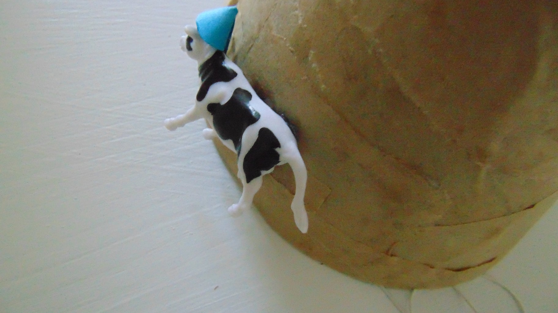 Attach Animals to the Party Hat