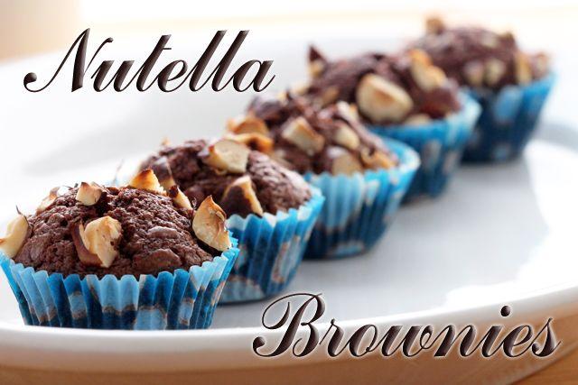 Nutella Brownies | Tres Ingredientes