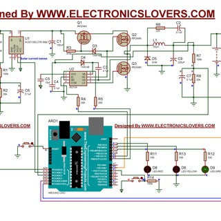 ARDUINO MPPT SOLAR CHARGE CONTROLLER (Version-3.0)