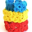 Crochet Clover Bracelet