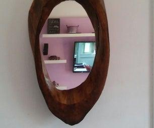 Log Mirror Frame!