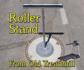 How to Make Roller Stand From Old Treadmill
