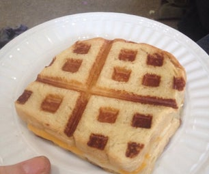 Waffled Grilled Cheese