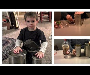 How Make a Durable Toy Drum in 2 Minutes