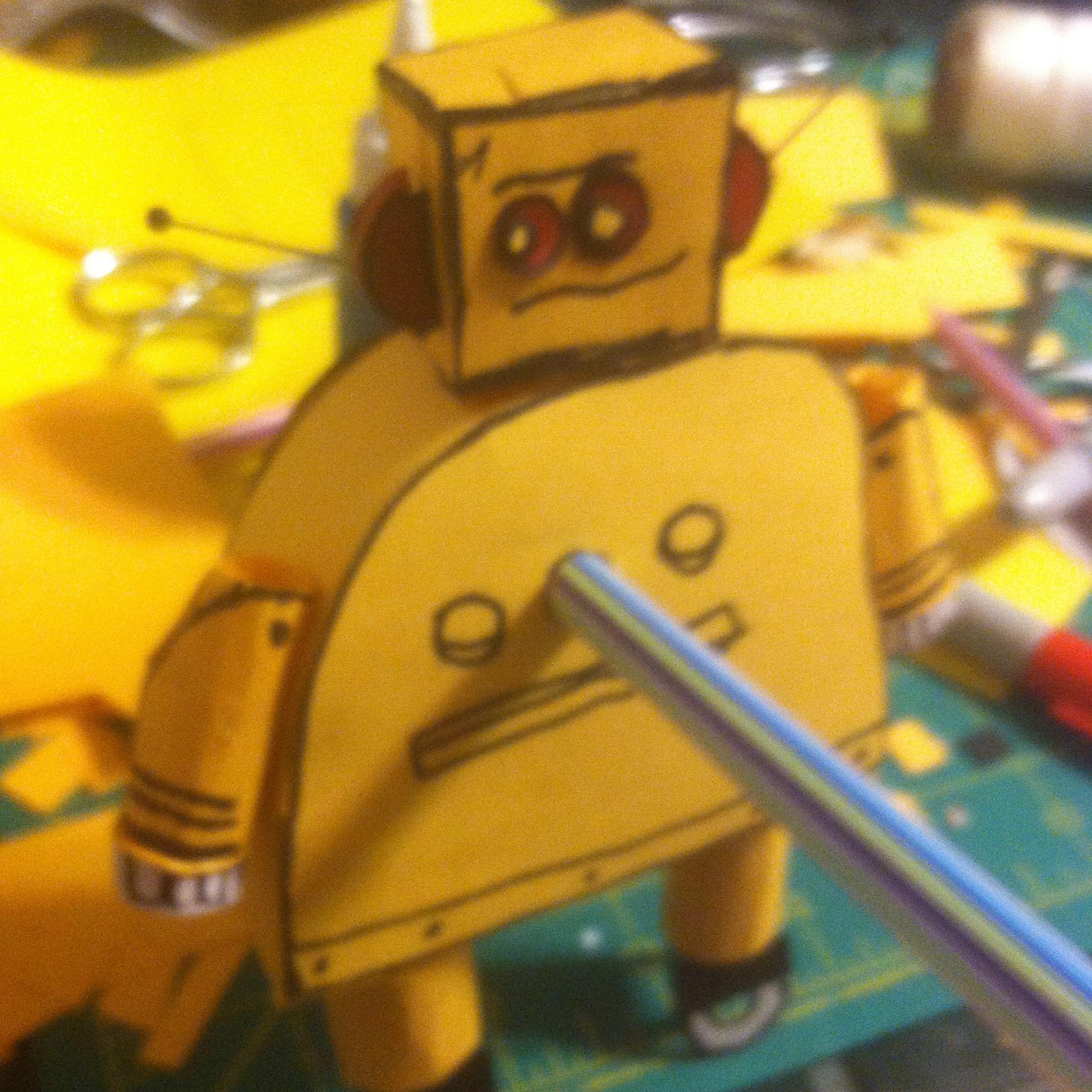 Instructables Robot Pencil Sharpener