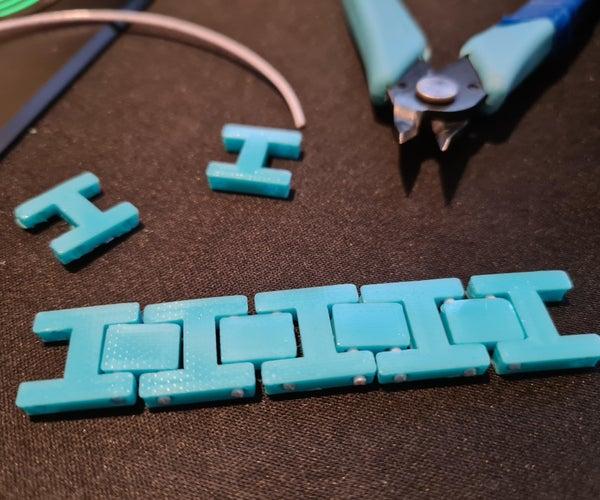 如何使用tinkercad制作3D可打印手链!