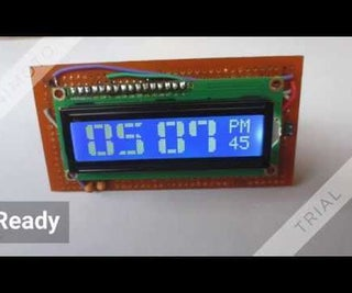 CLOCK USING ATMEGA 8