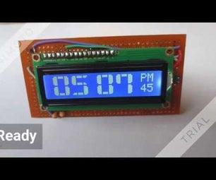 时钟使用Atmega 8