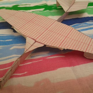 How to Make the SkyTomahawk Paper Airplane