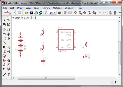 Add the Parts to the Schematic