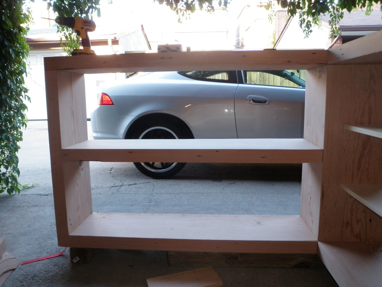Bookshelf Section.