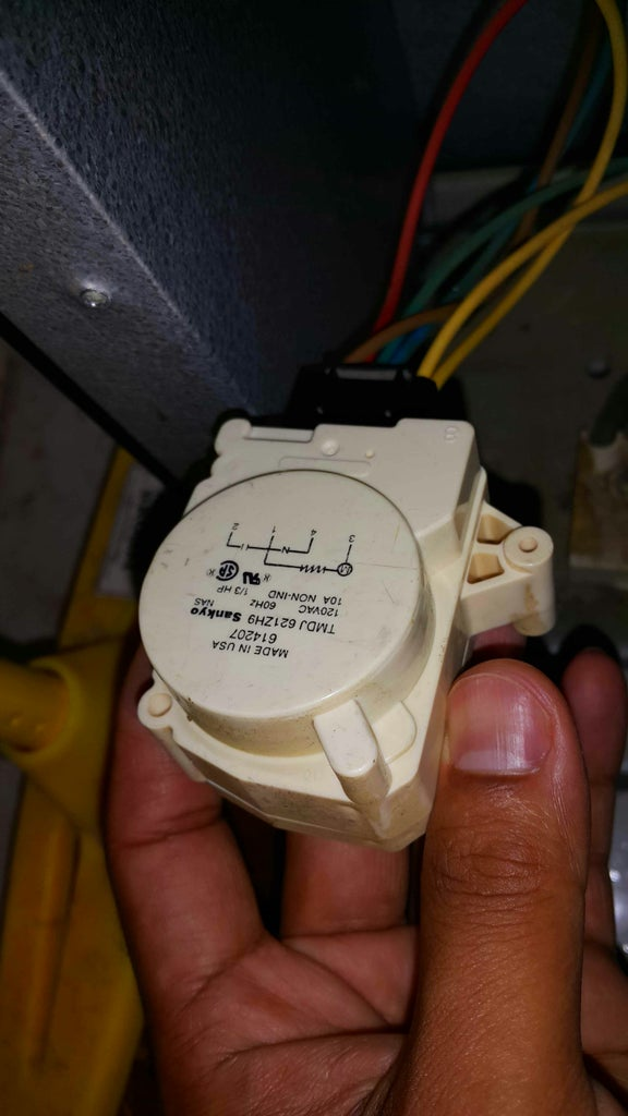 Removing the Mechanical Timer.