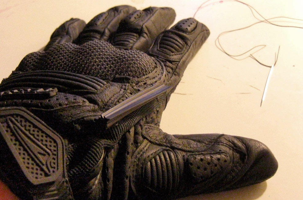 wiper glove