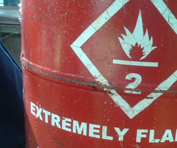 Purging a Gas Cylinder