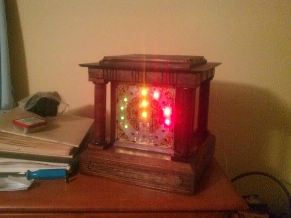 Victorian Inspired Binary Clock