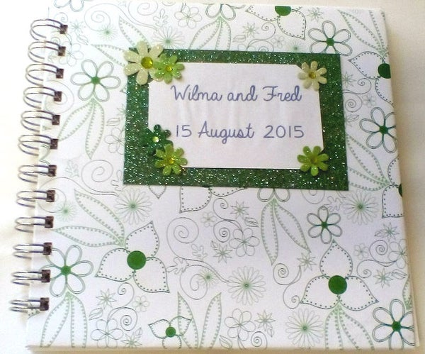 Envelope Wedding Guest Book