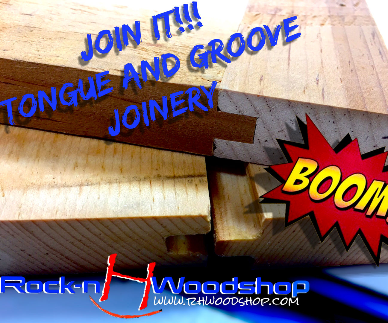 How to Make Tongue and Groove Joinery 2 Different Ways!