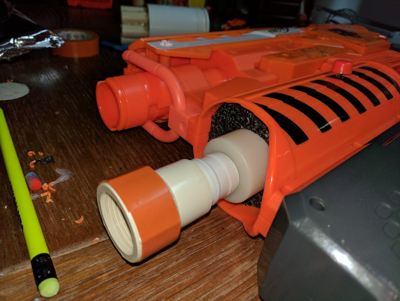 Assemble the Blaster.