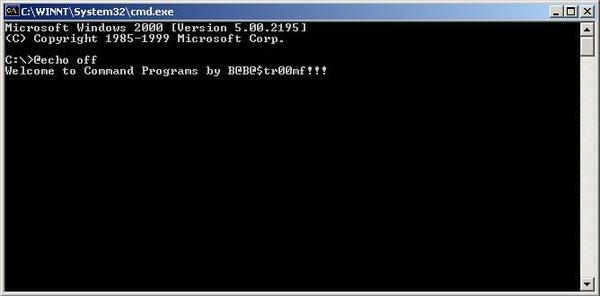 Command Programs