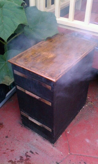 Filing Cabinet Smoker 11 Steps With Pictures Instructables