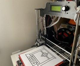 3D打印机到绘图仪