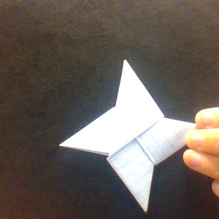 How to Make a Paper Ninja Star Shuriken Origami