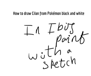 How to Draw Cilan