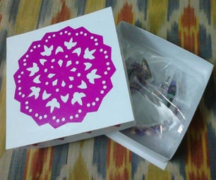 Paper Gift Box and Decoration