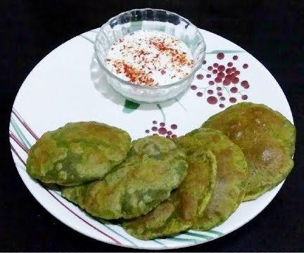 Masala Poori | Breakfast Recipes | Indian Recipes | Vegetarian Recipes | Hindi Audio English Subtitles