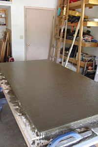 Screed and Float the Concrete