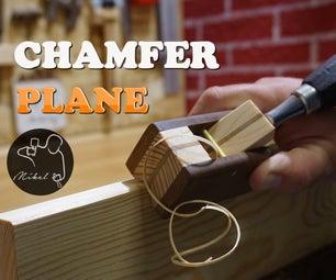 Wooden Chamfer Plane