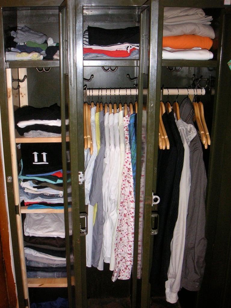 From Old Locker to Hip Wardrobe