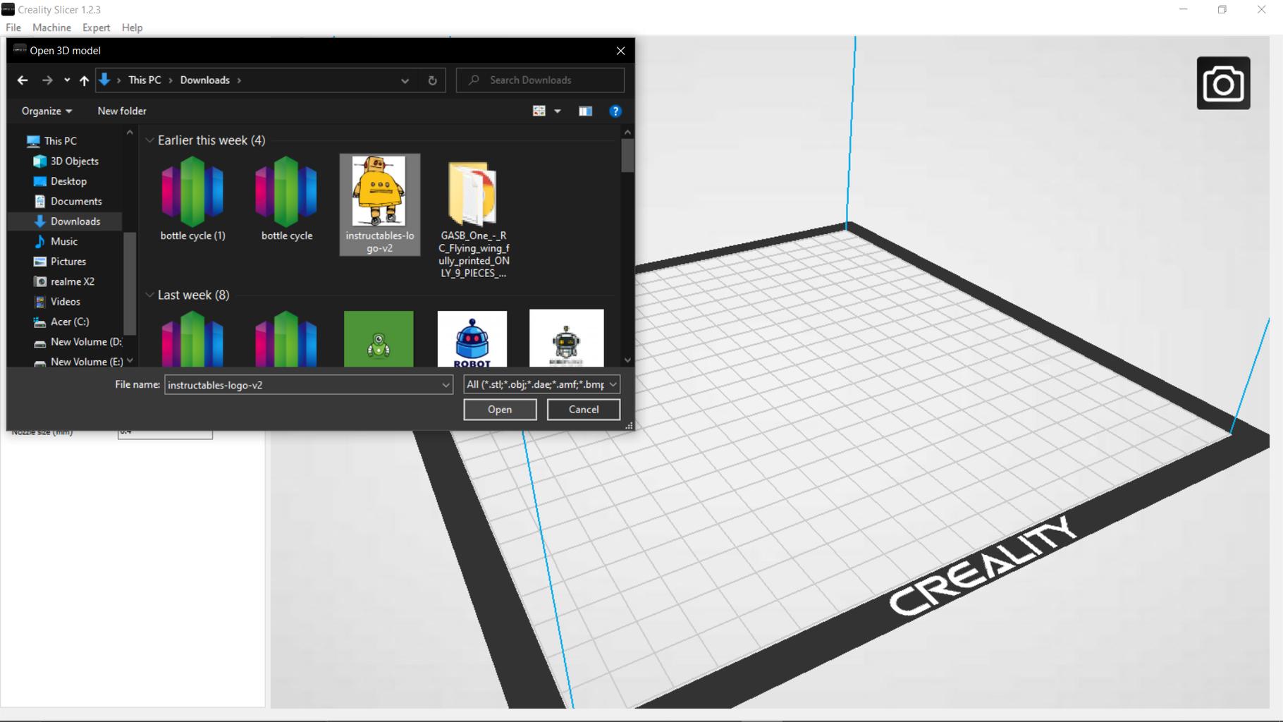 Convert Logo/Photo Image to 3D