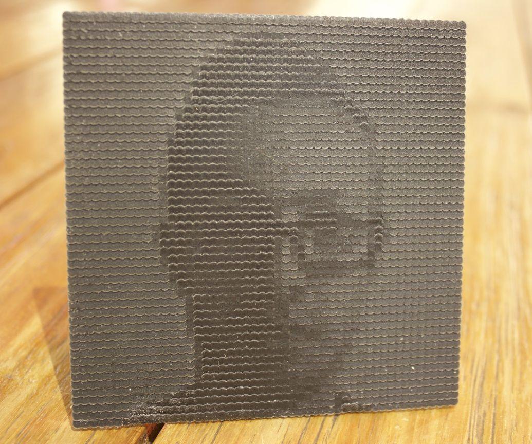 3d printed photo