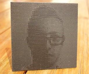 3D印刷的照片