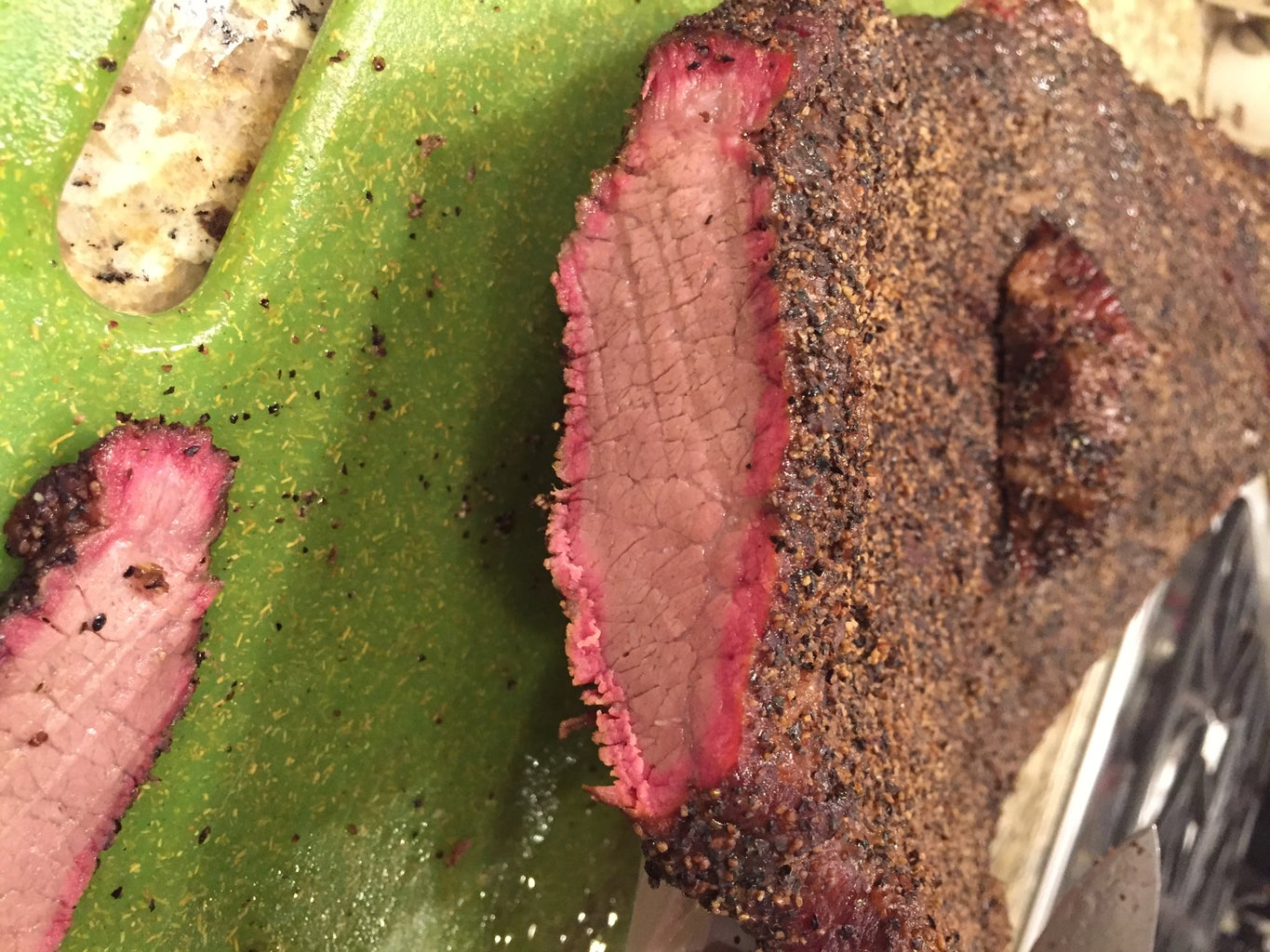 Cooking the Brisket