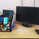Decluttering My Desk by Making a Desk Organiser