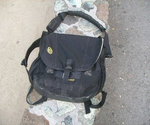 Simple Fixes to Timbuktu Commute Bag V.1, for Biking