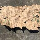 Treasure Map- Reusing Paper Bag