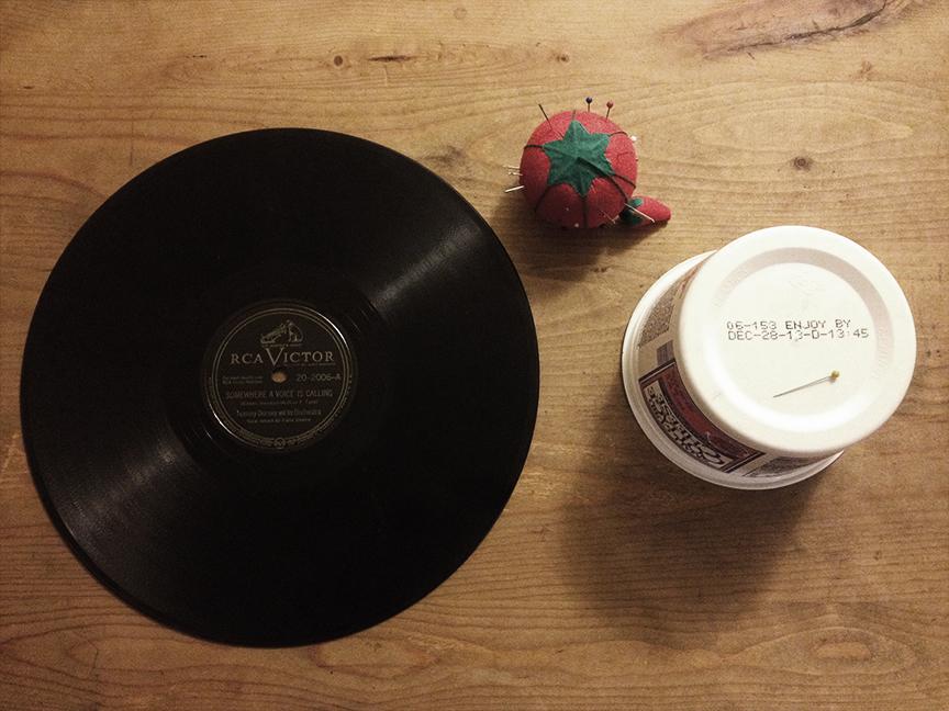 Simple Vinyl Record Player
