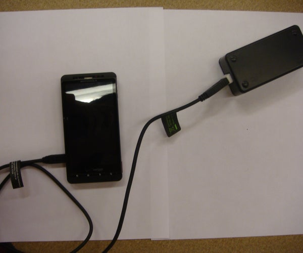 Build a Battery Powered USB Charger