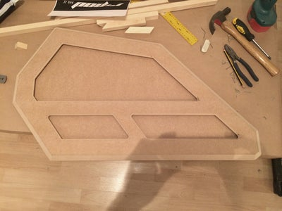 Complete the Windows and the Backing Piece: