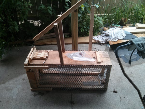 Building a Low Pressure, Humane, Animal Trap