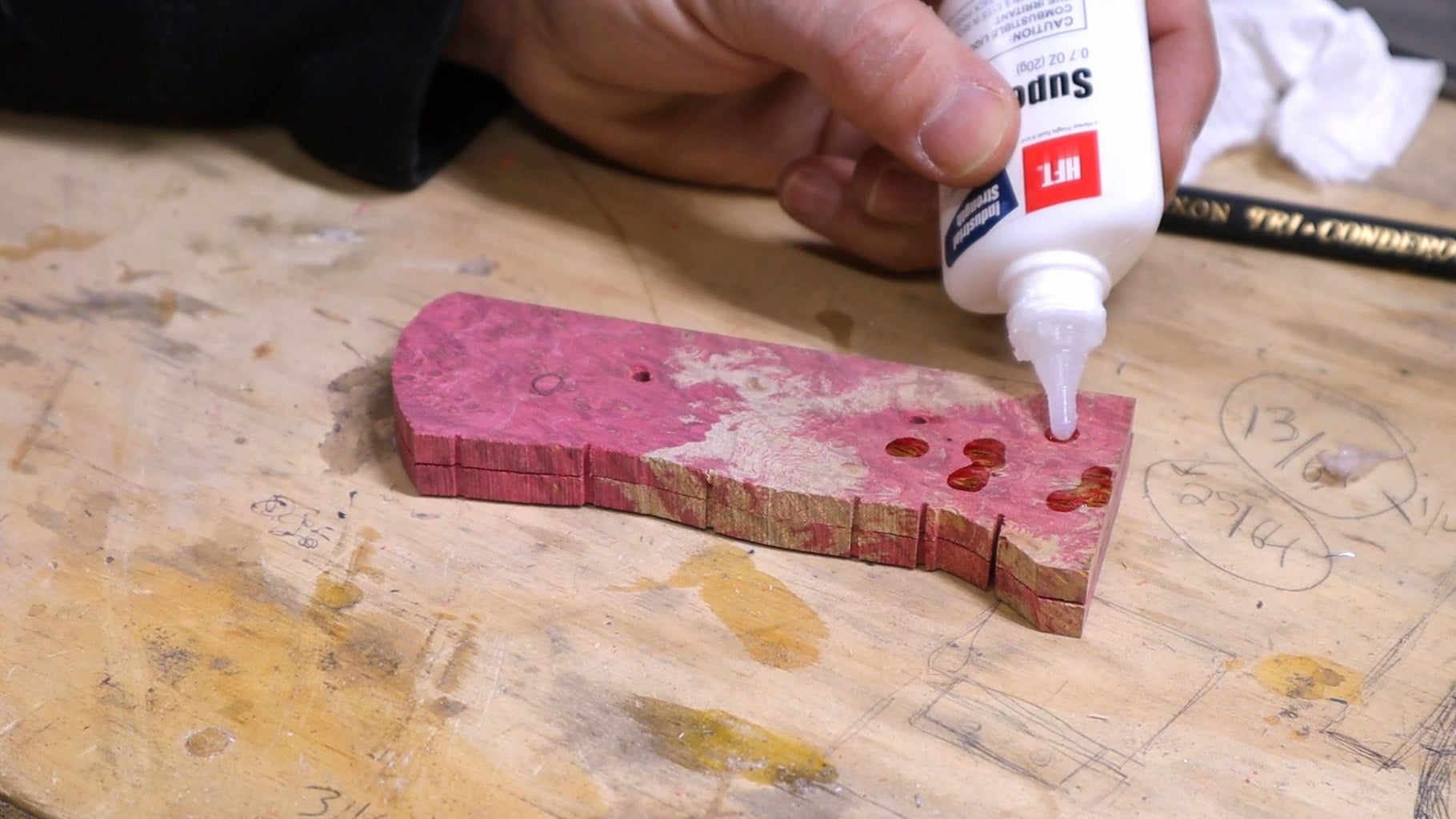 Gluing Any Imperfection in the Handle