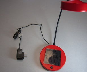 Solar Lamp Hack to Run Off Wall Power!