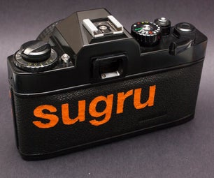 Sugru Inlay Your Vintage Cameras