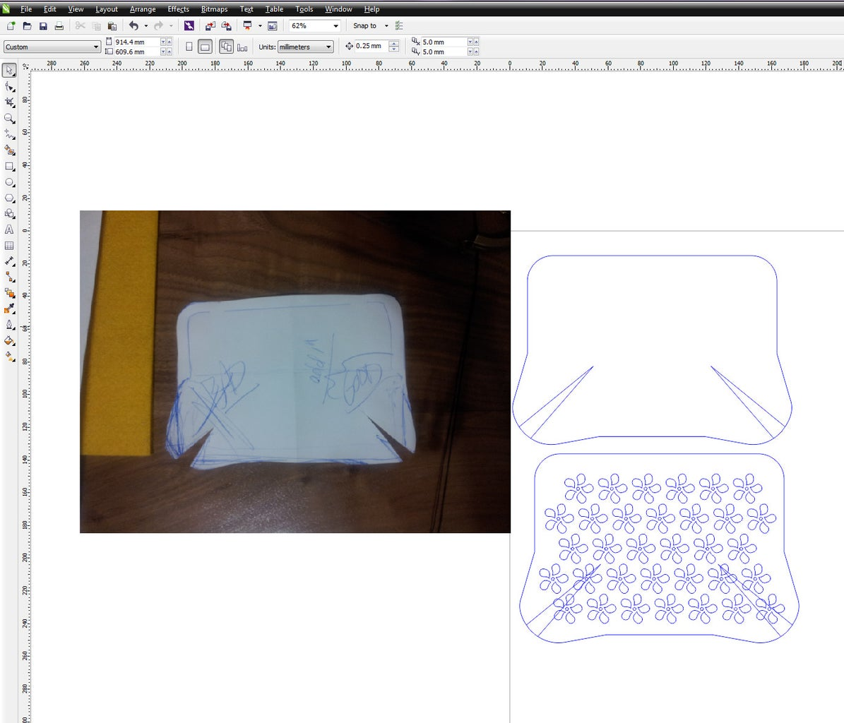 Digitizing the Pattern